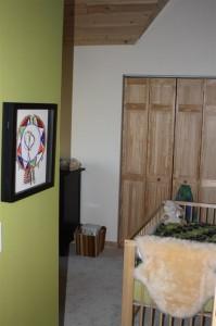 Miss Sophia's nursery upstairs