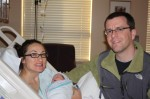Corey, Sophia and Ade doing well after delivery