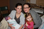 Sisters (Corey & Kim) and cousins (Sophia & Amelia)