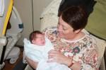 Grandma Chauvin visits