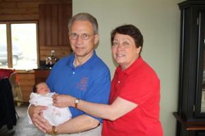 The happy Chauvin grandparents