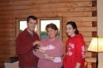 Aunt Anna and cousin Dana meet Sophia
