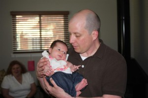 Baby Sophia meets Uncle Zac