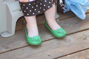 fancy lime green shoes