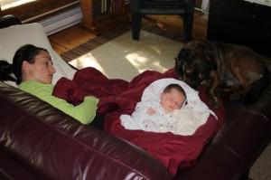 Fresh up north air induces a group nap...