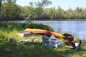 More Pickerel Lake views