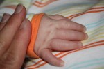 Mommy and Baby hands...experimenting with our new digital SLR