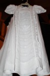 The baptismal gown