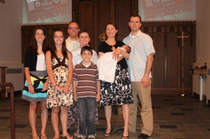 The Miller family (Ade's middle sister and her family)