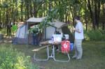 The Beyer's tent