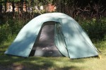 "Our ""comfy camping"" tent"